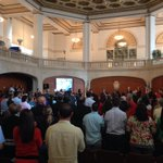 RT @jbaugh: Standing ovation for @JulianCastro in chambers. http://t.co/nr33hDa8Od