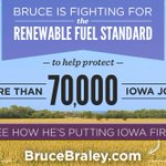 RT @TeamBraley: Bruce will always put Iowa first—thats why he fights for the Renewable Fuel Standard: http://t.co/B35TcmQgjk #IAsen http://t.co/xK07yCmFqT