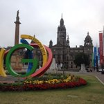 RT @JohnSwinney: My run this morning took me past George Square - heart of a great city welcoming the Commonwealth for #Glasgow2014. http://t.co/8ENS2NupTK