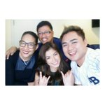 RT @jayweehair: Happy rainy wednesday~ just finished Its Showtime with @therealangellocsin @lalaflores16 & the @bernardcloma ! http://t.co/TqiaSom2di