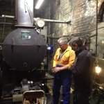Hot times in a cool city New Gasworks boiler - great teamwork to bring this asset to #gigatowndun http://t.co/3waE9y6UeJ