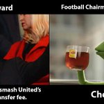 RT @paddypower: Ed Woodward has hinted hell smash Uniteds record transfer fee... http://t.co/acEKJWBFKL