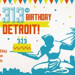 "RT @DETWinning: .MT @visitdetroit: Say ""Happy #DetroitBday"" on 7/24 @ 6pm as The D turns 313 http://t.co/3nqImcY2yG http://t.co/bixYfVw8lx #Detroit"