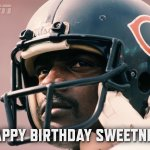 Today would have been the 60th birthday of the great Walter Payton. http://t.co/I7dKCEXRtu