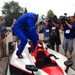 RT @SportsCenter: Talk about making an entrance...Reggie Wayne came to Colts training camp as a passenger in an Indy car. http://t.co/TQVeAyZHxo
