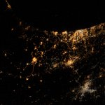 RT @Astro_Alex: My saddest photo yet. From #ISS we can actually see explosions and rockets flying over #Gaza & #Israel http://t.co/jNGWxHilSy