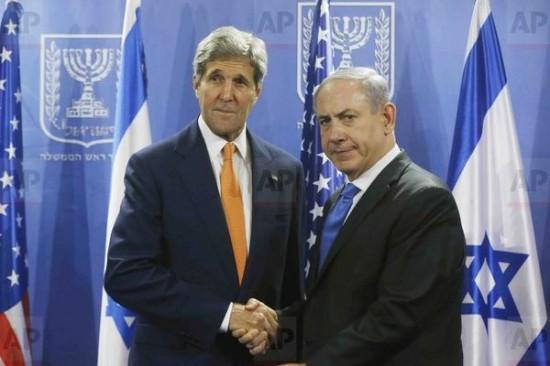 #ObamasPressureFails Kerry meets w. Netanyahu - Hears Israeli Anger over U.S. flight ban
