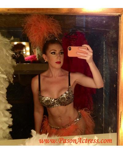 #Pason #Redhead #Actress #Lifetime #TV #Movie #Set. 1960's #Showgirl. Great #hair #makeup #wardrobe #cast