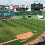 Another shot of Fenway readying for @liverpool vs AS Roma tonight - #wbz http://t.co/EDW7l4WmB8