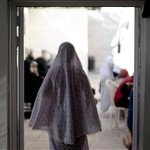 RT @benabyad: Displaced Palestinian woman walks in a Greek Orthodox church where many taking shelter in Gaza http://t.co/ieVYevwVAx http://t.co/Xbq0M86es9