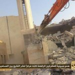 "RT @MaleehaManzoor: Dear Muslim clerics, isnt it blasphemy?! ""ISIS destroys the Masjid Fatima Zehra in Iraq"" http://t.co/SyAUragBkQ via @omar_quraishi"
