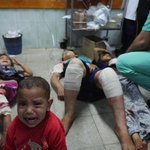 RT @Irishcamera: Scores killed in attack on a school being used as a shelter #Gaza. http://t.co/kAJEefoQvA