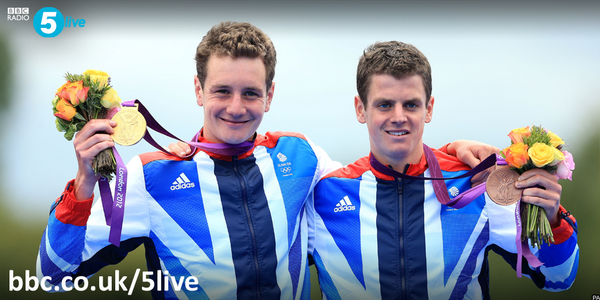 "RT @bbc5live: Brownlee brother tactics: ""Work together on the swim.  Work together on the bikes. Then race!""  #Glasgow2014 http://t.co/xCkwrfJNQN"