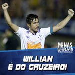 Demorou mais tá confirmado! WILLIAN É DO @CRUZEIRO! http://t.co/hZ5USbsZoQ