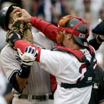 "They almost played together #Mariners ""@SportsCenter: 10 years ago, Variteks glove met ARods face. #tbt http://t.co/jlIPlGb18k"""