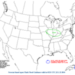 Flooding also a concern this weekend. #Louisville area under a Slight Risk of excessive rainfall late Sat/early Sun. http://t.co/szbeS8lGPU