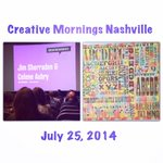 Happy Friday! Loved hearing about @HatchShowPrint at @Nashville_CM! #Nashville #CMNSH http://t.co/Ewgo99R8jb