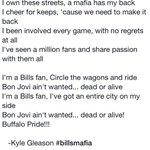RT @TheGleason: @TheBillsMafia I wrote this little song for us due to the current ownership situation we have with our #BuffaloBills http://t.co/UneA8K4lMK