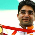 RT @TejasThink: Abhinav Bindra won Gold medal in 10m air rifle in #CWG2014 #Glasgow2014 Kudos to #AbhinavBindra #India :) http://t.co/ApHTZWUBZX