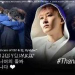 GOOD LEADER FOR 2 YEARS!!! @AllRiseSilver WE ARE LOVE YOU SO MUCH >3 #ThanksHyukJae http://t.co/rdEGBSQaHl