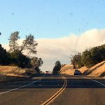 RT @nick_janes: Massive smoke plume from the #SandFire in Amador County, as seen from Ione, 15 miles south. http://t.co/d6RcYJlqqz