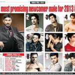 RT @priyaguptatimes: Times Polls: Most Promising Newcomer male for 2013 is Dhanush @dhanushkraja http://t.co/V0QDvES2if