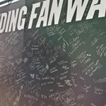 RT @Panthers: Are you here at @woffordcollege for the #Panthers Back to Football party? Be sure to sign the Keep Pounding Fan Wall! http://t.co/fiKETJY72u