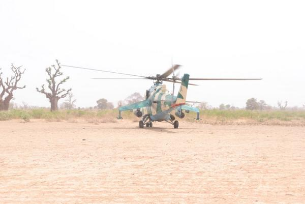 Critics would want to give you wrong impressions that our Military have no helicopters for aerial operations in Borno