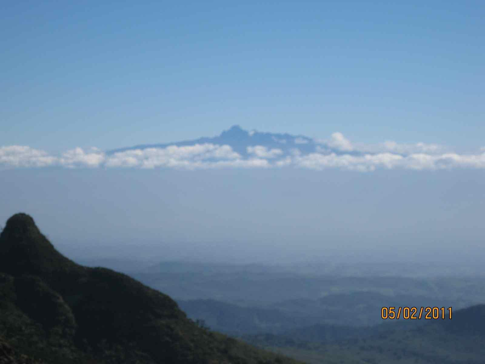 A view of Mt.Kenya from the Aberdares Ranges (Kinangop Peak) http://t.co/0ItzSnTre5