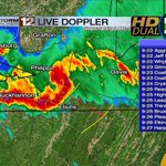 Line of thunderstorms continues to work Southeast... Into Tucker and Randolph Counties... Heads Up Elkins! #WVWX http://t.co/m0bS3FhUsE