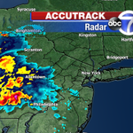 RT @JeffSmithABC7: Thunderstorms will enter western New Jersey in the next few hours, reaching the city around midnight. @ABC7NY http://t.co/cSEOlEK2Hj