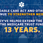 RT @VP: Medicare is in better financial standing today thanks to the #ACA -- a win for seniors and American taxpayers. http://t.co/83B6TVtxMY