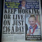 Work til you drop or starve & freeze - the latest offer to vote NO for a low wage Britain. #IndyRef #VoteYes http://t.co/57h6nsMiuY