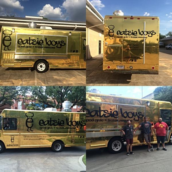 Eatsie Boys: The Gold Standard of Food Trucks. Hitting the streets of Htown soon! http://t.co/gc4Xlk8Wye