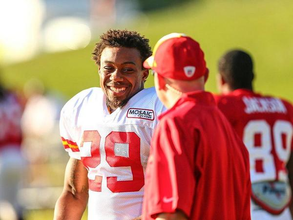 Why not smile? @Stuntman1429 #VFL #Vols #Chiefs
