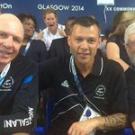 RT @Stirlingyoung: Great pic of #PrinceHarry photo bombing the NewZealand Commonwealth team http://t.co/ClkeZg6eAE