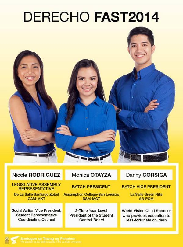 Together with you in achieving your Ideal Student Experience,FAST2014, sabay sabay po tayo!OTAYZA. CORSIGA. RODRIGUEZ http://t.co/rcVVXobxQO