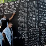 RT @_A_khalifa: The list names of children killed in Israeli assault on Gaza & the breaking news in BBC is !? #ICC4Israel http://t.co/OGUtxRbMuA