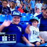 Look at that! Its our own @DJJIMIO w/the kiddos tonight at the @RaysBaseball game! Kids are swagged out! #RaysUP ????⚾ http://t.co/F1jffFYE8f