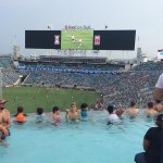 Au top ! La tribune piscine des @Jaguars à l@EverBankField #hospitality http://t.co/Nj1JeJ3CiD