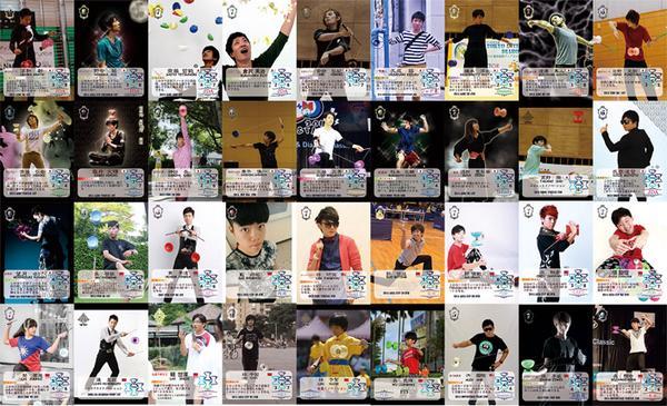 T.Saito (@jugglersaito): お陰様でなんとか36種入稿できました。 TIDCギリ間に合いそうです。 微妙に分かる人には分かりそうなカード全種類の写真です。 http://t.co/sIWDsWyhW5