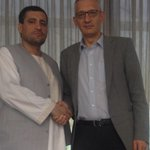 My last official meeting as Ambassador to Afghanistan. I say goodbye to a friend. Thank you, @MASalangi ! http://t.co/G8HYdhaj8a