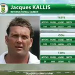 RT @SkyCricket: A look at the career of the remarkable Jacques Kallis, who has retired from all formats of international cricket. http://t.co/FCtcBoikID