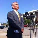 Attorney Larry Wilder: Clark Co. Sheriff Danny Rodden on paid administrative leave, turned in gun and badge. http://t.co/zN61TFANJM
