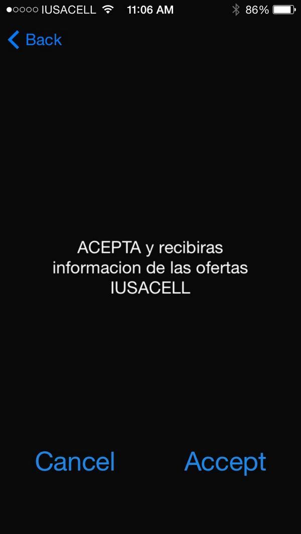 iusacell tono: