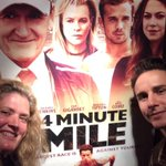 RT @GravitasVOD: Our own VP of Acquisitions, Melanie, at #LA premier of @4MinMileMovie w/ #KellyBlatz #indiefilm #movies #4minutemile http://t.co/k7DV6PswOU