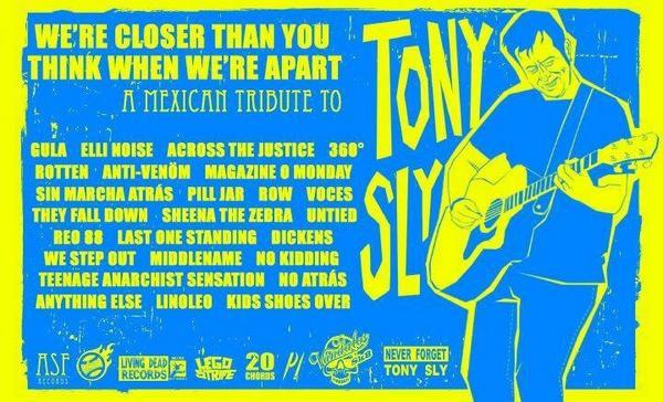 Ya está a la venta el Tributo a Tony Sly @NoUse1 en @ThrowBallMakers y @vandalosk8 $60.00 envios a todo México. #RT http://t.co/i57K89X30M