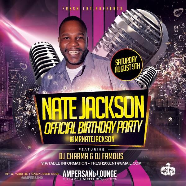 Also this sat we have @MrNateJackson throwing his birthday bash you know how he gets down! http://t.co/nK9FqqpzBd
