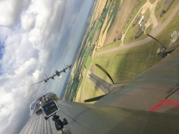 How good is this picture?!! If only it had the noise too! @RAFBBMF We were only at @CWHM last year! #fantastic http://t.co/1E53ZMeDWJ