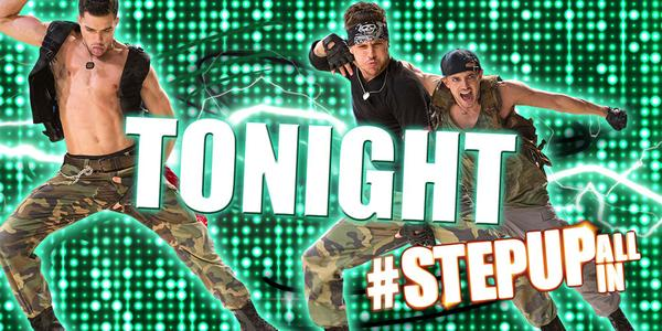 The dance event of the summer is finally here… See #StepUpALLin TONIGHT! Get tix here: http://t.co/V50dinzNUH http://t.co/4yEs17apOe